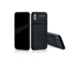 Husa Spate Upzz Auto Focus Silicon Soft iPhone X,iphone 10 Negru