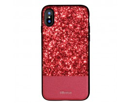 Husa Spate Lux Premium Dzgogo Bling iPhone X,iphone 10 Red