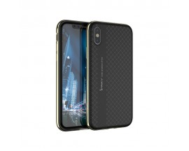 Husa Spate Ipaky Armor iPhone X ,iphone 10 Negru Gold
