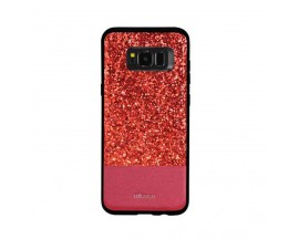 Husa Spate Lux Premium Dzgogo Bling Samsung S8 Red