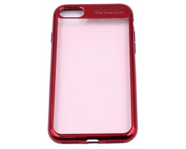 Husa Spate Silicon ElectroPlated Auto Focus Slim iPhone 7 Red
