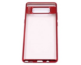Husa Spate Silicon Electroplated Auto Focus Slim Samsung Note 8 Red
