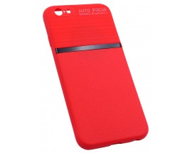 Husa Spate Mixon Auto Focus Silicon Soft iPhone 6 6s Red