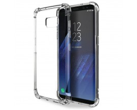 Husa Anti-shock Clear Upzz Samsung Note 8 Transparenta Plus Folie Camera Nano Glass Upzz Itelmobile