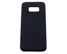 Husa Spate Silicon Wave Upzz Samsung S8 Plus  Negru