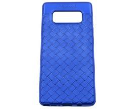 Husa Spate Silicon Wave Upzz Samsung Note 8 Blue
