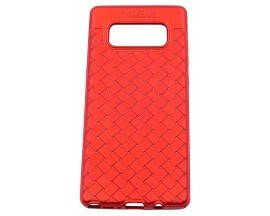 Husa Spate Silicon Wave Upzz Samsung Note 8 Red