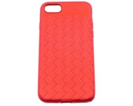 Husa Spate Silicon Wave Mixon iPhone 7/8 Red