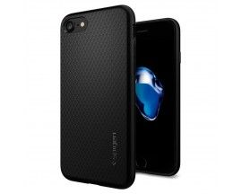 Husa Spigen Liquid iPhone 7/8 Negru ,Silicon