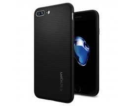 Husa Spigen Liquid iPhone 7/8 PLus Negru ,Silicon