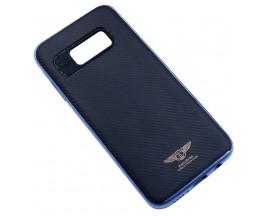 Husa Ikaku Hybrid Fiber Samsung S8 Plus Negru Albastru