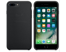Husa Apple Style Fara Logo Iphone 8 Plus Negru
