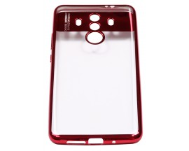 Husa Spate Silicon ElectroPlated Auto Focus Slim Huawei Mate 10 Pro Red