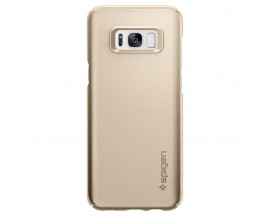 Husa Samsung S8 Plus Spigen Sgp Thin Fit Gold Slim