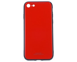 Husa Spate Mixon Glass Pro iPhone 7/8 Red