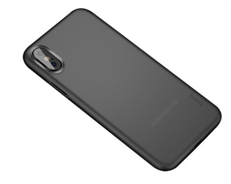 Husa Ultra Slim Hoco iPhone X Fumuriu Mate