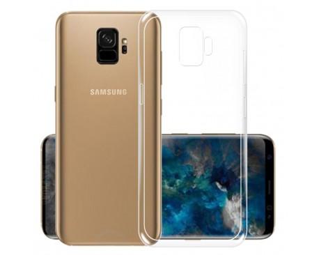 Husa Spate Silicon Ultra Slim Samsung S9 Transparenta