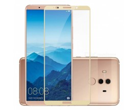 Folie Sticla Securizata 9h Full Cover Huawei Mate 10 Lite Gold