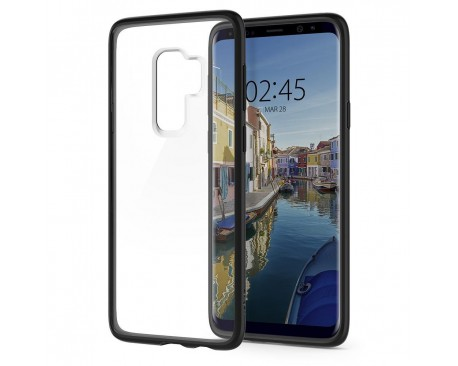 Husa Originala Spigen Ultra Hybrid Samsung Galaxy S9Matte Black