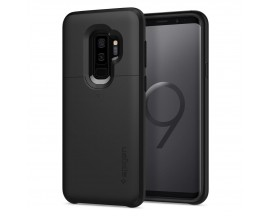 Husa Originala Spigen Slim Armor Cs Samsung S9+ Plus Cu Slot De Card Black