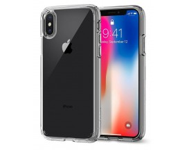 Husa Originala Spigen Ultra Hybrid Iphone X, Iphone 10 Crystal Clear Transparenta