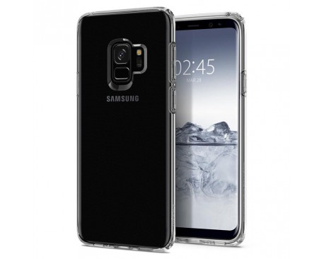 Husa Spigen Liquid Crystal Samsung S9 Transparent ,silicon