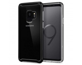 Husa Originala Spigen Neo Hybrid Crystal Samsung Galaxy S9 Midnight Black