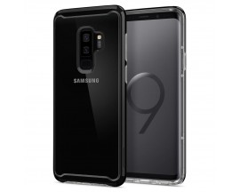 Husa Originala Spigen Neo Hybrid Crystal Samsung Galaxy S9+ Plus Midnight Black