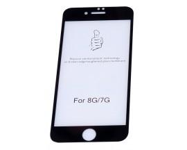 Folie Sticla Ecran 3d Full Cover Upzz Ok iPhone 7 /8 Negru
