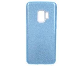 Husa Spate Upzz Shiny Lux Samsung S9 Albastru