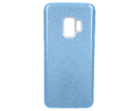 Husa Spate Mixon Shiny Lux Samsung S9 Albastru