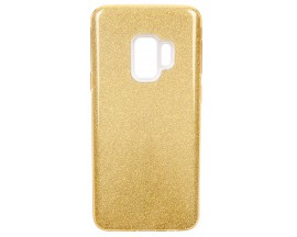 Husa Spate Mixon Shiny Lux Samsung S9 Gold