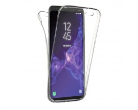 Husa 360 Grade Full Cover Silicon Samsung S9+ Plus Transparenta
