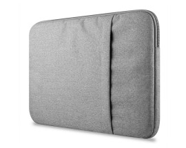 Husa Upzz Tech-protect Sleeve Macbook Air,pro 15 Inch Gri Deschis