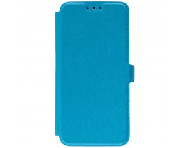 Husa Huawei P20 Lite Flip Cover Pocket Blue
