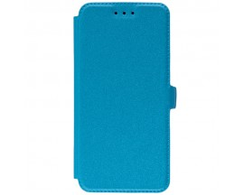 Husa Huawei P20 Flip Cover Pocket Blue