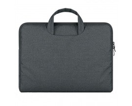 Husa Geanta Upzz Tech-protect Briefcase Macbook 12 Air 11 Dark Grey
