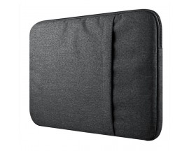 Husa Upzz Tech Protect Sleeve Pentru Laptop 15-16 Inch ,macbook Pro 15-16 Inch, Dark Grey