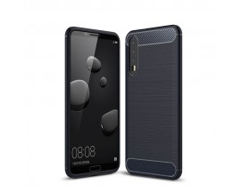 Husa Spate Forcell Carbon Pro Huawei P20 Pro Navy