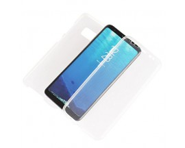Husa 360 Grade Full Cover Silicon Samsung Note 8 Transparenta