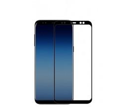 Folie 5d Full Cover Full Glue Mixon Pro Glass Samsung A6+ Plus 2018 Cu Adeziv Pe Toata Suprafata Foliei