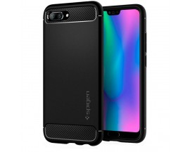 Husa Premium Originala Spigen Rugged Armor Huawei Honor 10 Negru ,silicon