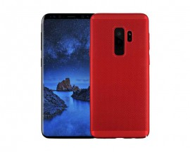 Husa Lux Hard Ultra Slim Air-up Samsung A8 2018 Red