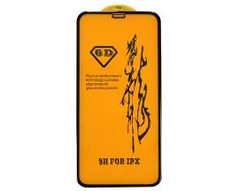 Folie 6d Full Cover Full Glue Upzz Pro Glass iPhone X Cu Adeziv Pe Toata Suprafata Foliei