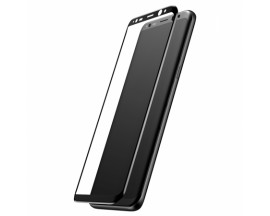 Folie Sticla Securizata Originala Baseus 3d Full Cover Samsung S8+ Plus Black