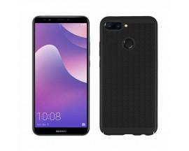 Husa Lux Hard Ultra Slim Mixon  Air-up Huawei Y7 2018 Black
