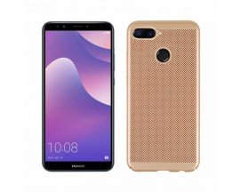 Husa Lux Hard Ultra Slim Mixon Air-up Huawei Y7 2018 Gold