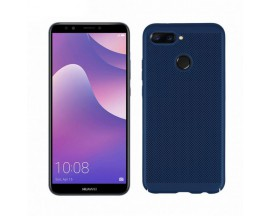 Husa Lux Hard Ultra Slim Mixon Air-up Huawei Y7 2018 Dark Blue