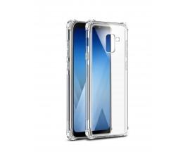Husa Crystal Clear Anti-shock Mixon Pro Samsung J4 2018 Cu Tehnologie Air-Cushion cu Folie Sticla Marca Mixon in Pachet
