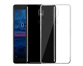 Husa spate Mixon Ultra Slim Nokia 7 Plus Transparenta